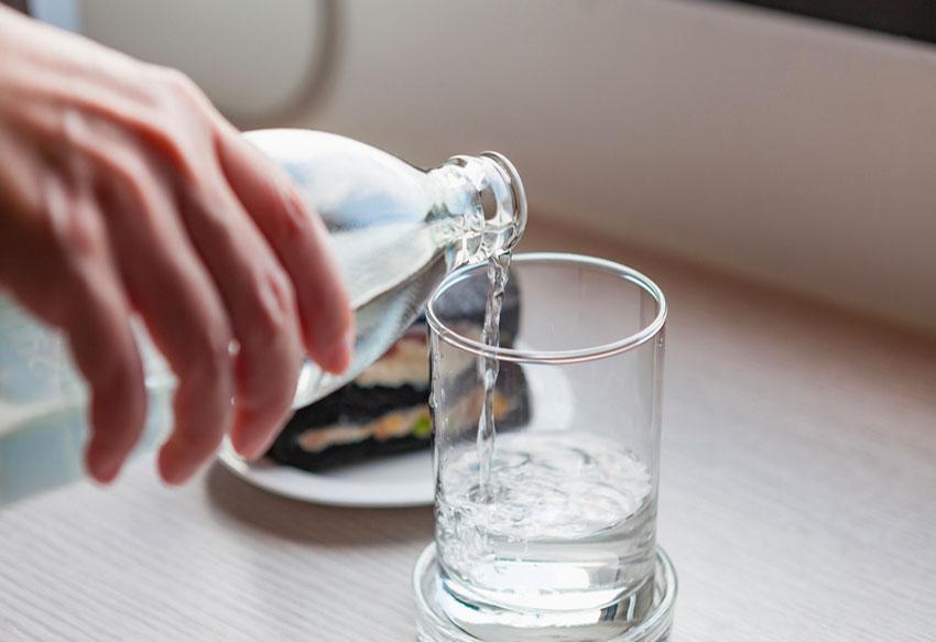 Come si degusta l'acqua minerale?